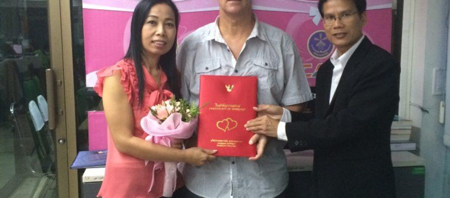 Getting married in BKK