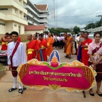 Parade before Buddha day