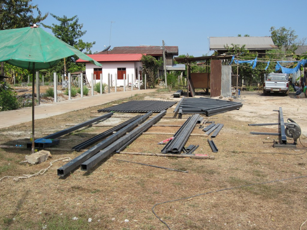 Roof steel