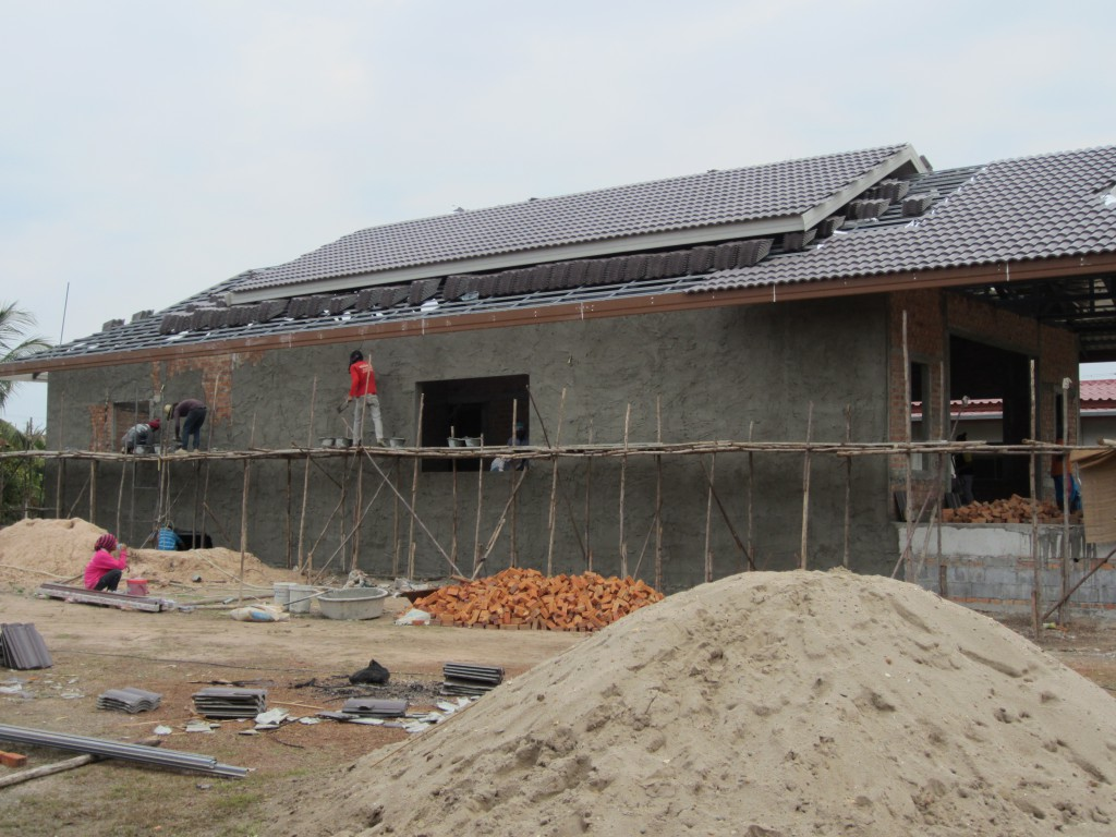 Roof & cement cover