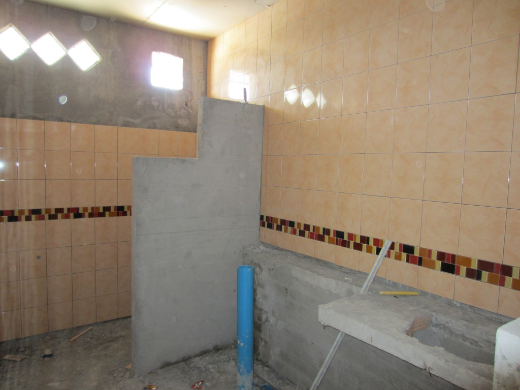 Bathroom build