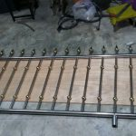 Front wall metal