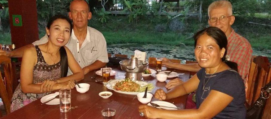 Dinner Supana & Jan