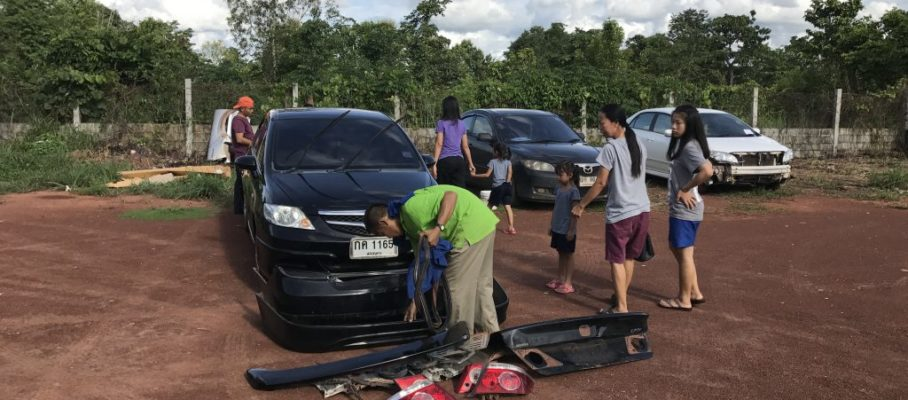 Car repaired...