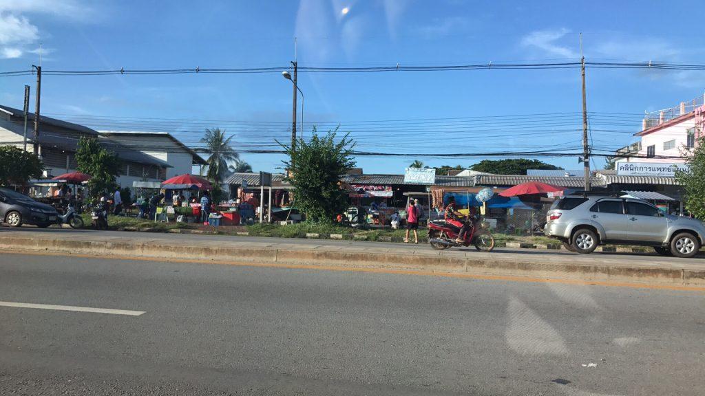 Phang Khon market