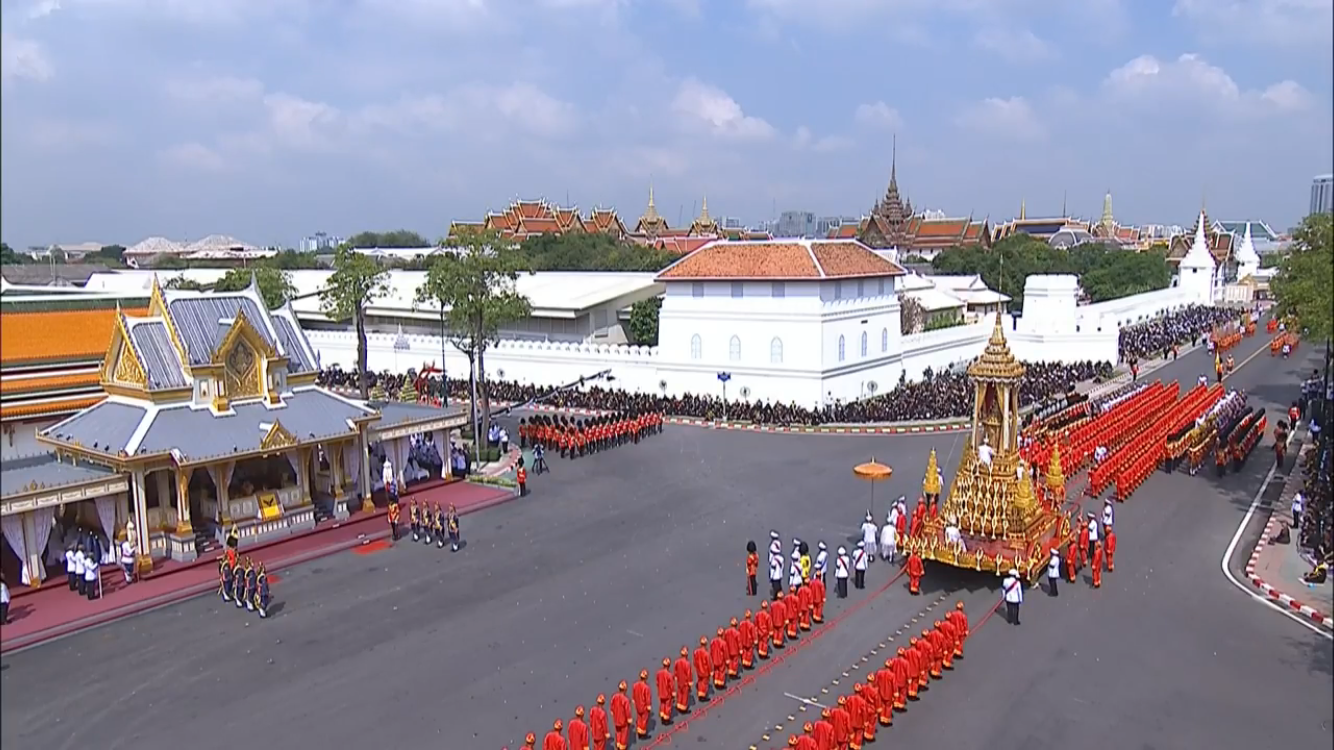 Cremation procession