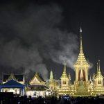 Cremation smoke