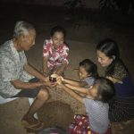 Water blessing Papa