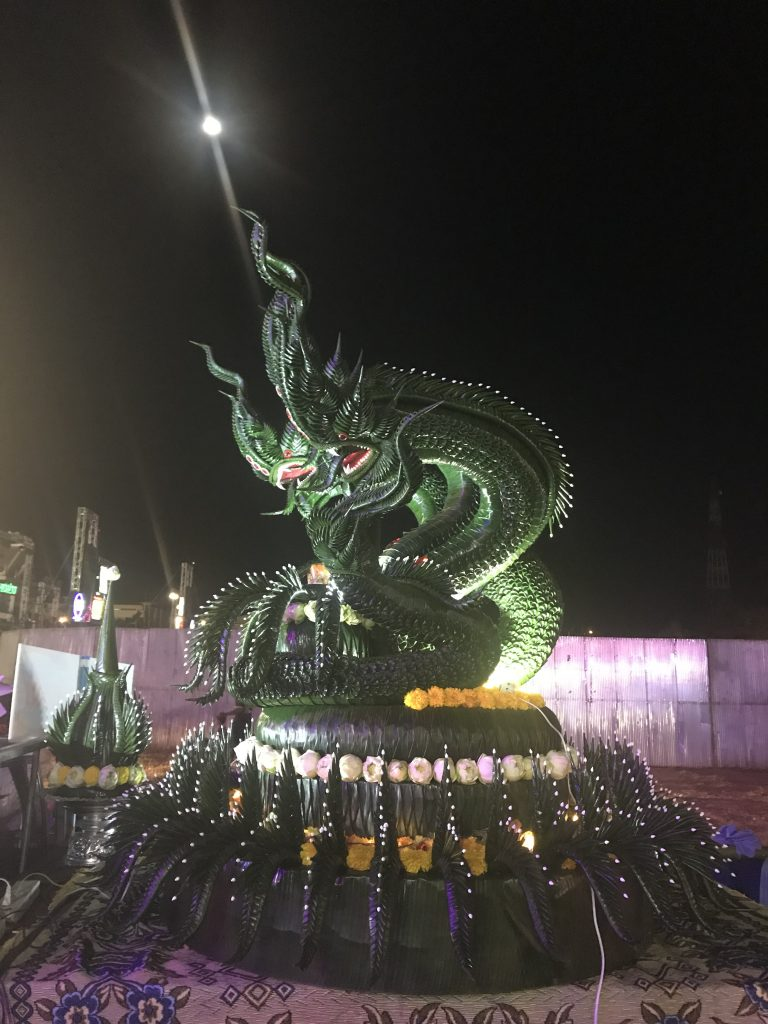 Krathong snake