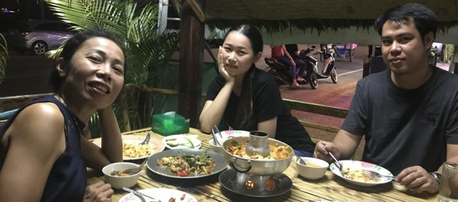 Dinner with May