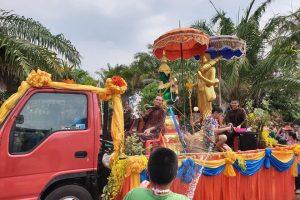 Statues & Monks