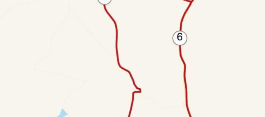 My 36,2 km cycling