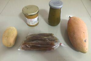 Mango compote & jam