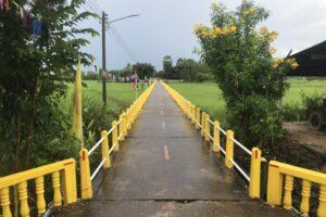 New color Temple bridge