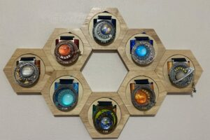 Solar Planets medals