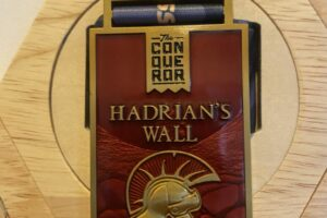 Hadrian's Wall medal