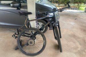 New bike flat tire